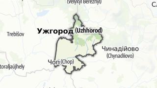 Mapa / Ужгородський район