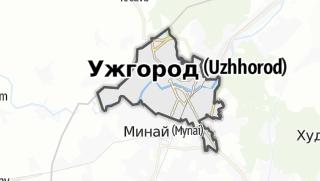 Mapa / Ужгородська міська рада