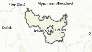 Mapa / Берегівський район