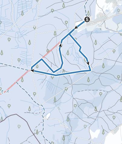 Karte / Familienloipe in Johanngeorgenstadt