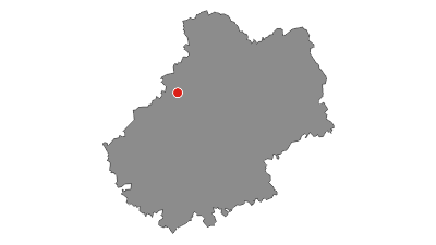 Carte / Tour du Lot à VTT