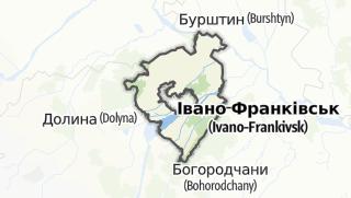 Mapa / Калуський район