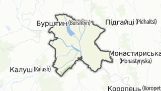 Mapa / Галицький район