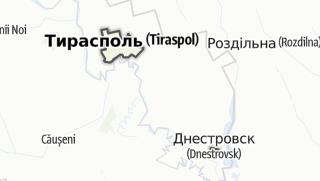 Kartta / Sovetul orășenesc Tiraspol