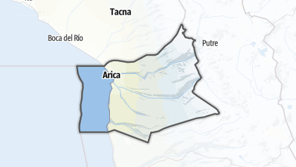 Mapa / Arica