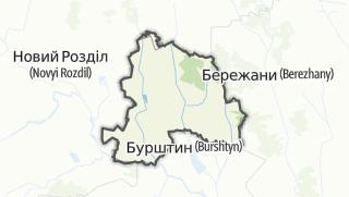 Mapa / Рогатинський район