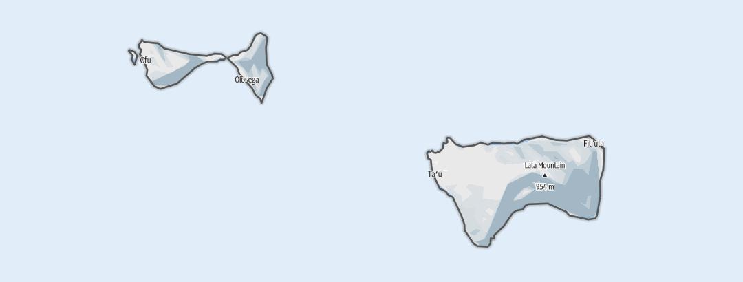 Mappa / Manu'a District