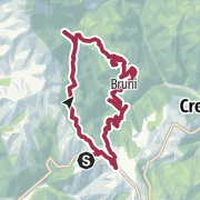 Map / San Bortolo of the Mountains, among contrade and enchanted woods