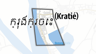 Kartta / Kracheh