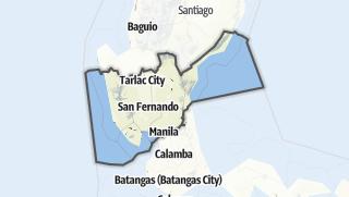 Hartă / Central Luzon