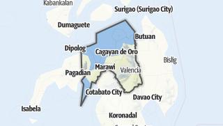 Hartă / Northern Mindanao
