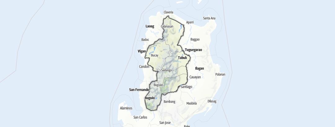 Map / Cordillera