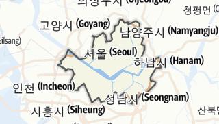 Hartă / 서울특별시