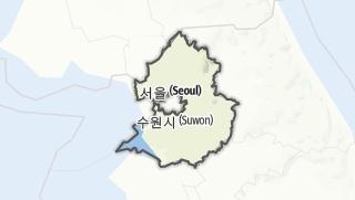 Hartă / 경기도