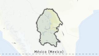 Kartta / Coahuila de Zaragoza