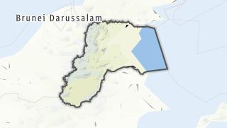 Hartă / Kalimantan Utara