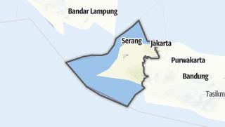Hartă / Banten