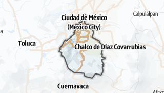 Hartă / Ciudad de México