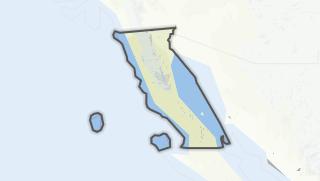 Kartta / Baja California