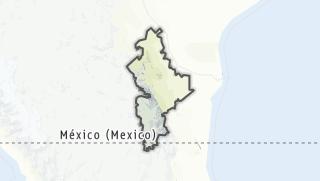 Hartă / Nuevo León