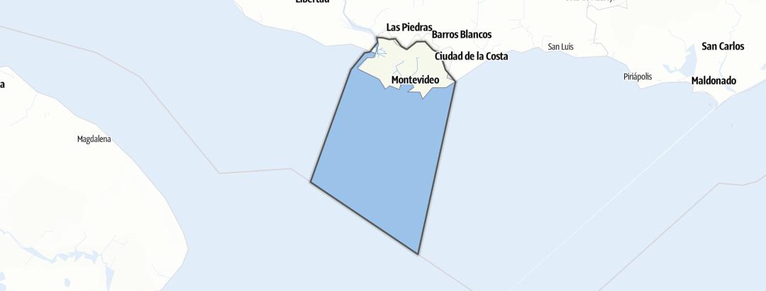 Map / Montevideo