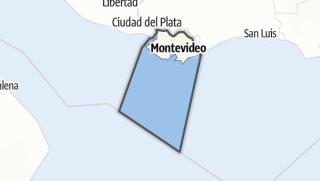 Hartă / Montevideo