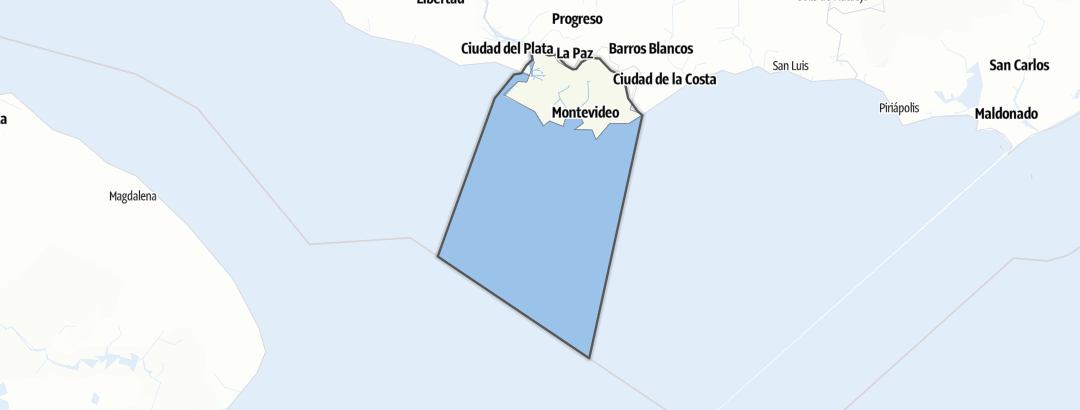 Mapa / Montevideo