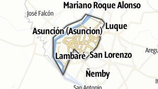 Kartta / Asunción