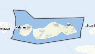 Hartă / Nusa Tenggara Barat