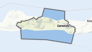 Hartă / Gorontalo