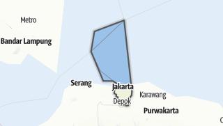 Hartă / Dki Jakarta