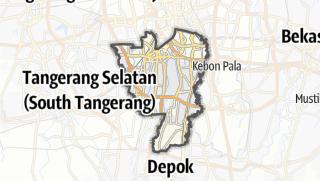 Карта / Kota Jakarta Selatan