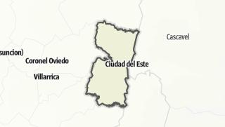 Kartta / Alto Paraná