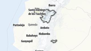 Mapa / Provincia de Pichincha