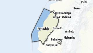 Mapa / Provincia de Manabí