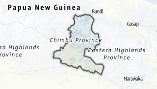 Hartă / Chimbu (Simbu) Province