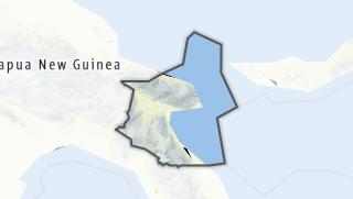 Hartă / Morobe Province