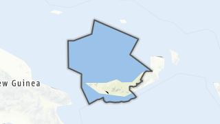 Hartă / West New Britain Province
