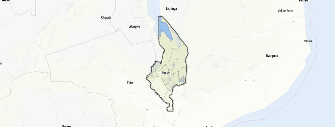 Térkép / Chakumwera
