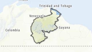 מפה / Guayana
