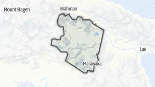 Hartă / Eastern Highlands Province