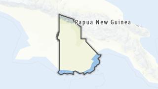 Hartă / Western Province