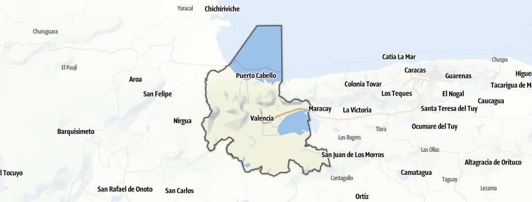 Térkép / Carabobo