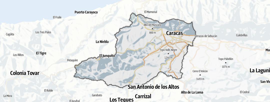 Carte / Distrito Capital