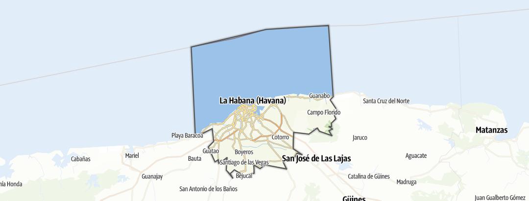 Mapa / La Habana