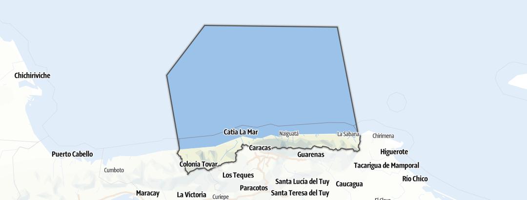 מפה / La Guaira