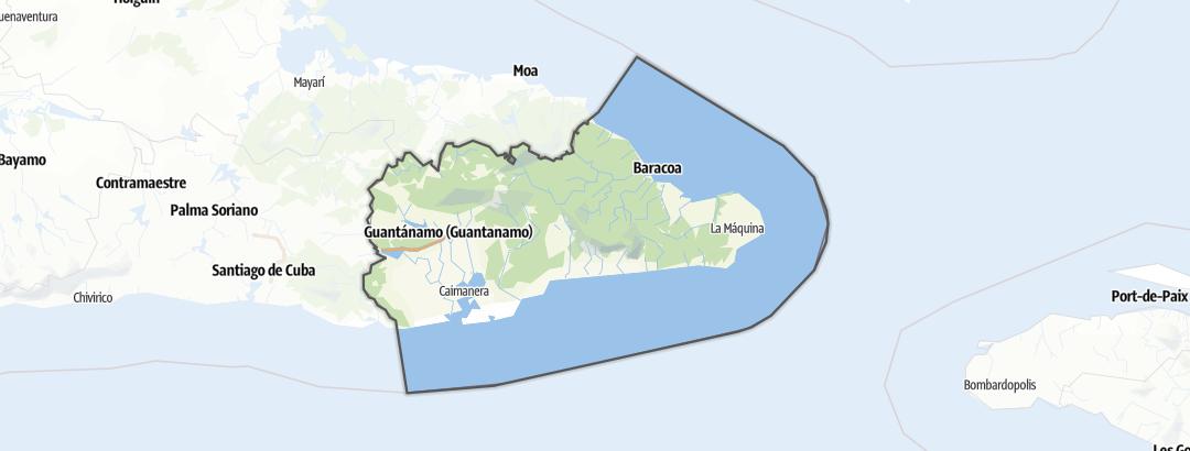 Mapa / Guantánamo