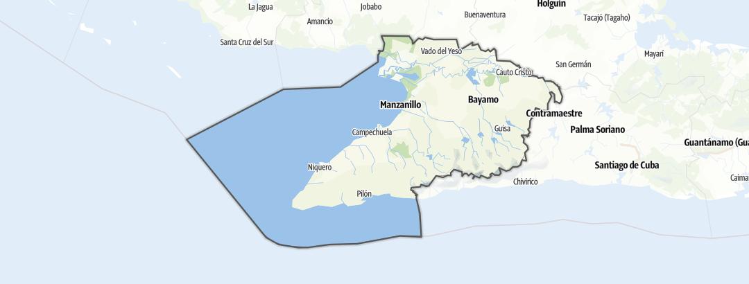 Mapa / Granma