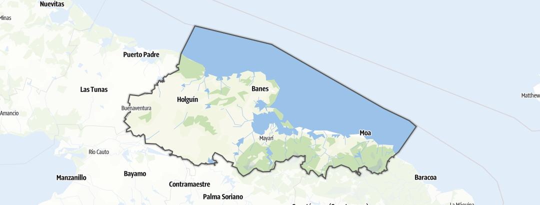 Mapa / Holguín