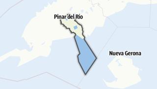 地图 / Pinar del Río